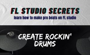 Create Rockin' Drums
